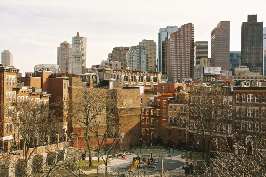 north end view-