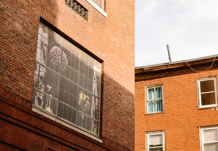 window mural-