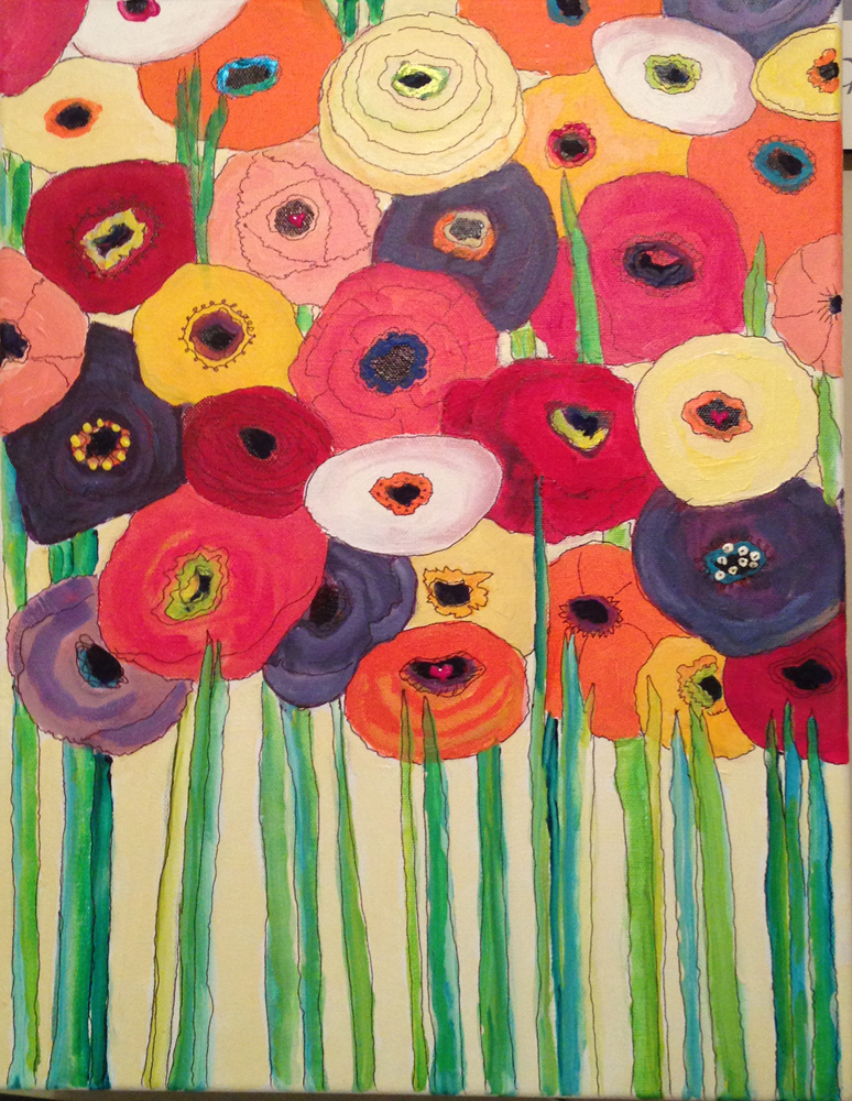 Painting flowers sm